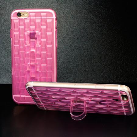 in: flexiloop iphone 6s gel case with finger holder rose pink Daisy Reader