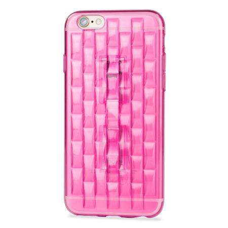 flexiloop iphone 6s gel case with finger holder rose pink you are