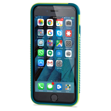 Olixar FlexiFrame iPhone 6S Plus Bumper Case - Green