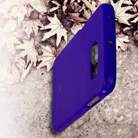 Mercury Goospery Jelly Samsung Galaxy S6 Edge Gel Case - Purple