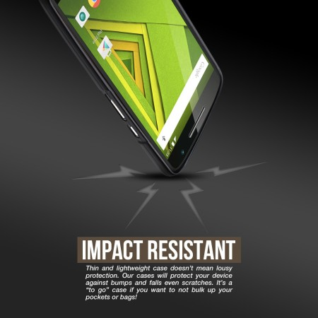 Cruzerlite Motorola Moto X Play Bugdroid Circuit Case - Clear
