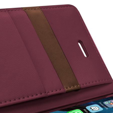 Mercury Sonata Diary iPhone 6S Plus / 6 Plus Wallet Case - Wine