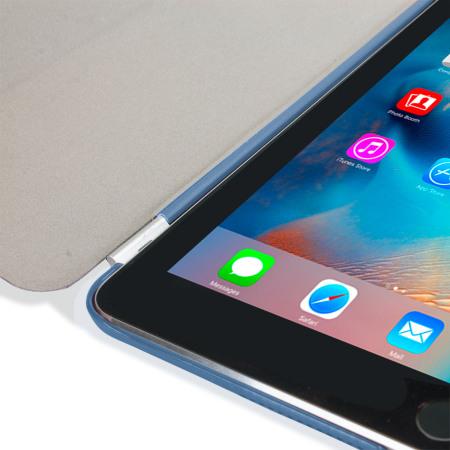 Funda iPad Mini 4 Olixar Smart Cover con Carcasa Rígida - Azul