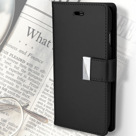 September 2015 mercury rich diary iphone 6s 6 premium wallet case black 2 other