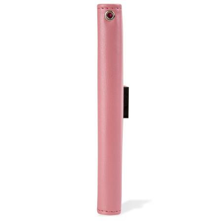 Mercury Rich Diary Samsung Galaxy S6 Premium Wallet Case - Pink
