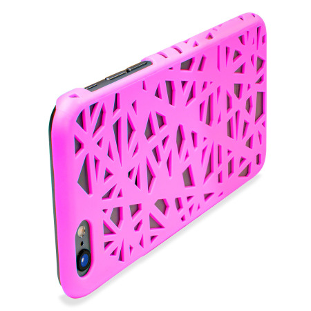olixar maze hollow iphone 6s 6 case pink sorbet can connect laptop