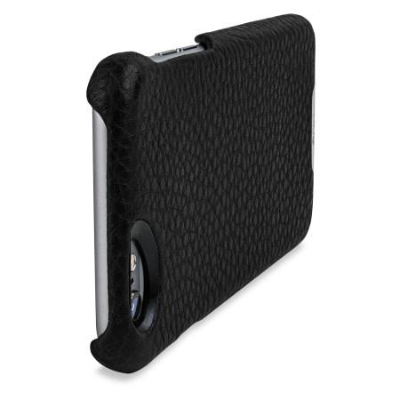 vaja grip iphone 6s 6 premium leather case dark brown birch