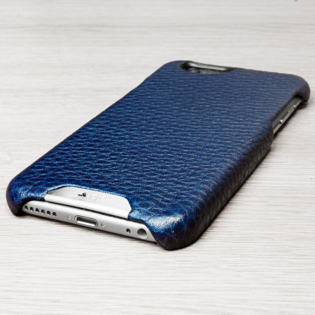 about the communication vaja grip iphone 6s 6 premium leather case crown blue true blue its
