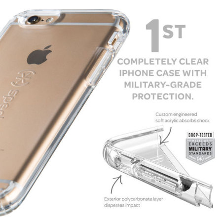 on sale cc763 58359 Speck CandyShell iPhone 6S / 6 Case - Clear