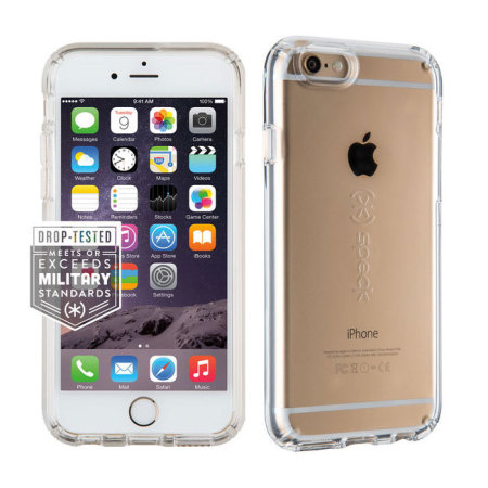 849e13945e4 Speck CandyShell iPhone 6S Plus   6 Plus Case - Clear