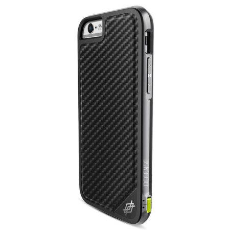 X-Doria Defense Lux iPhone 6S / 6 Tough Case - Black Carbon