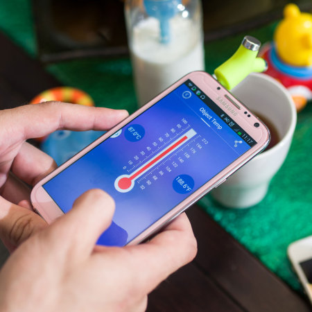 Wishbone iOS & Android Smartphone Baby Thermometer