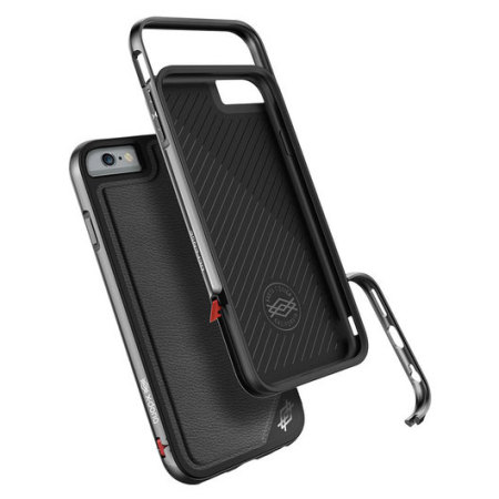the best attitude 14dd0 8f45e X-Doria Defense Lux iPhone 6S / 6 Tough Case - Black Leather