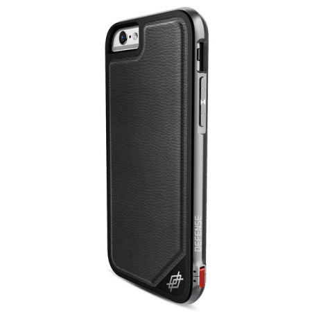 the best attitude a1db8 11660 X-Doria Defense Lux iPhone 6S / 6 Tough Case - Black Leather