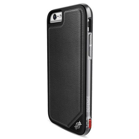 huge discount b462a f54f9 X-Doria Defense Lux iPhone 6S Plus / 6 Plus Tough Case - Black Leather