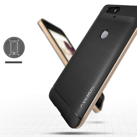 the world verus high pro shield series nexus 6p case champagne gold very humbling