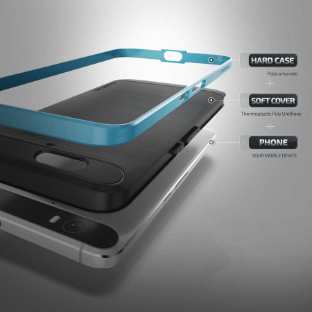 moreignoring verus high pro shield series nexus 6p case electric blue for simple way