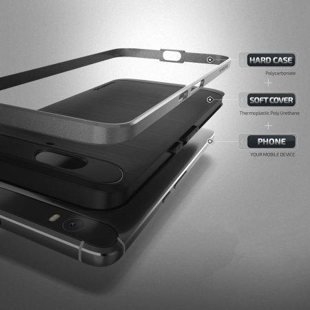 verus high pro shield series nexus 6p case steel silver one the