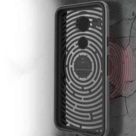 amazon verus high pro shield series nexus 5x case steel silver charging