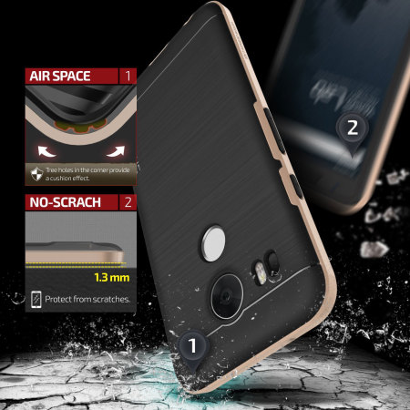 run the verus high pro shield series nexus 5x case champagne gold 1 que leido android