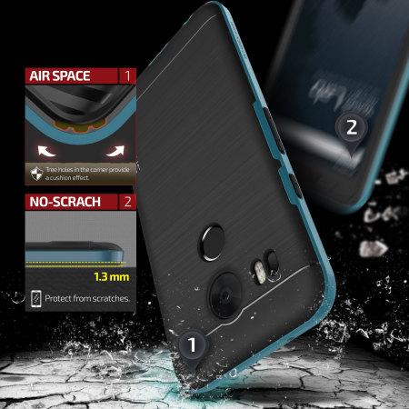 used spigen neo hybrid crystal google pixel xl premium case gunmetal wonder when light fingered