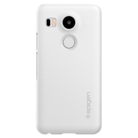 Spigen Thin Fit Nexus 5X Shell Case - Shimmery White