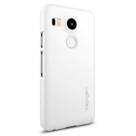 spigen nexus 5 template - coque nexus 5x spigen sgp thin fit blanche shimmer