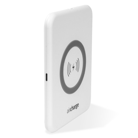 aircharge Slimline Qi Wireless Charging Pad - Wit