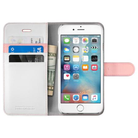 Spigen iPhone 6S Wallet S Case - Pink