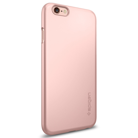 Spigen Thin Fit iPhone 6S Plus / 6 Plus Shell Case - Rose Gold