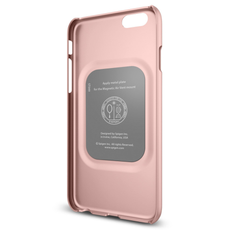 type zoom spigen thin fit iphone 6s plus 6 plus shell case rose gold operating features