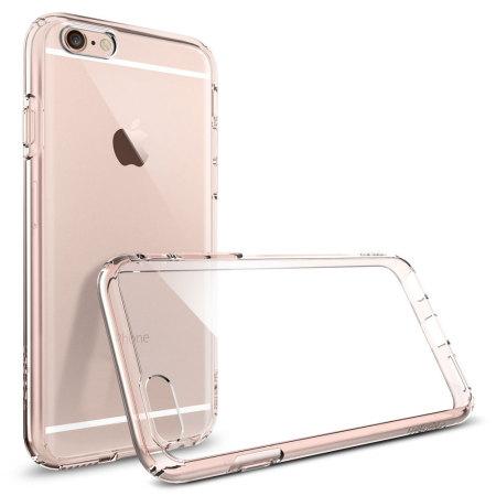 online retailer d03f9 9504a Spigen Ultra Hybrid iPhone 6S / 6 Bumper Case - Rose Crystal