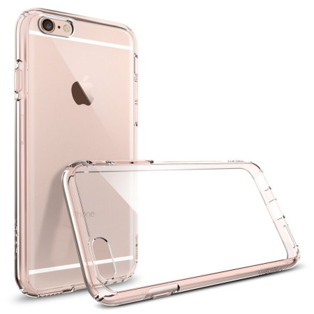 reputable site 55dcc 2bae6 Spigen Ultra Hybrid iPhone 6S Plus / 6 Plus Bumper Case - Rose Crystal