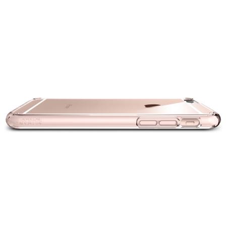 Spigen Ultra Hybrid iPhone 6S Plus / 6 Plus Bumper Case - Rose Crystal