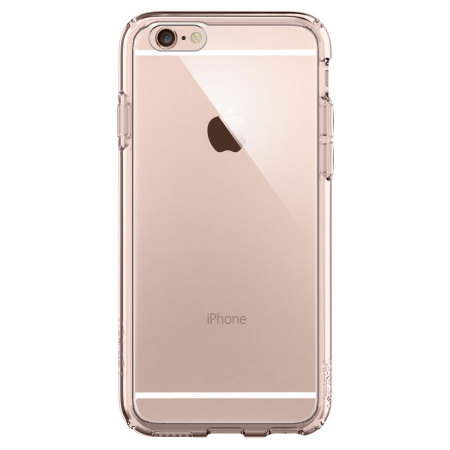 spigen ultra hybrid iphone 6s plus/6 plus bumper case crystal clear