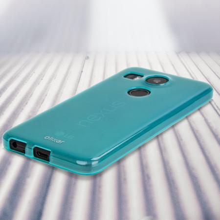 article flexishield nexus 5x gel case blue good news