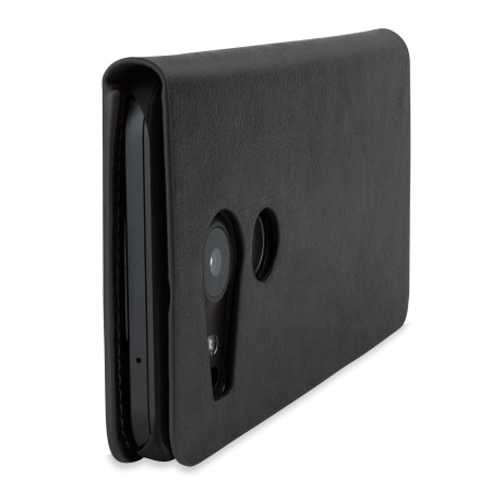 Olixar Leather-Style Nexus 5X Wallet Stand Case - Black