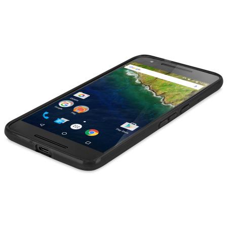 FlexiShield Nexus 6P Gel Case - Solid Black