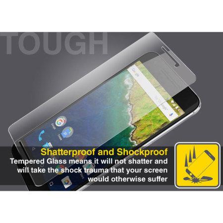 Olixar Nexus 6P Tempered Glass Screen Protector