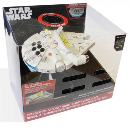 Radio réveil Star Wars Millennium Falcon Night Lampe de nuit