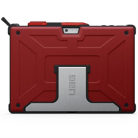 Urban Armor Gear Rogue Microsoft Surface Pro 4 Folio Case Red