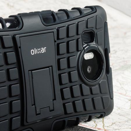 phone's olixar armourdillo hybrid protective microsoft lumia 950 case black today