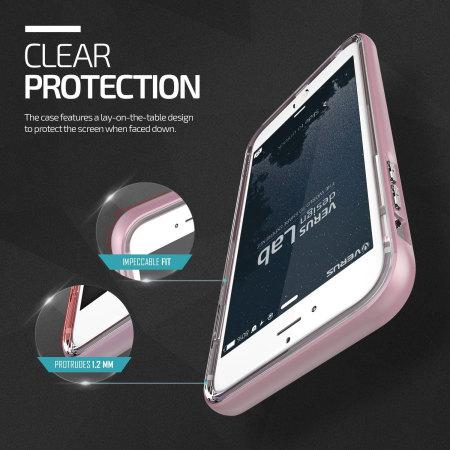 the best attitude a8499 0e614 Verus Crystal Bumper iPhone 6S / 6 Case - Rose Gold
