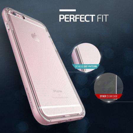 low priced 01d0e 21d98 Verus Crystal Bumper iPhone 6S Plus / 6 Plus Case - Rose Gold