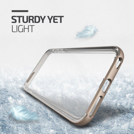 Verus Crystal Bumper iPhone 6S Plus / 6 Plus Case - Gold