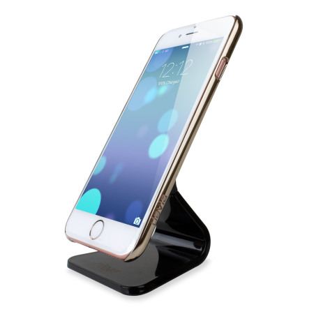 Soporte escritorio Olixar Micro-Suction para iPhone - Negro