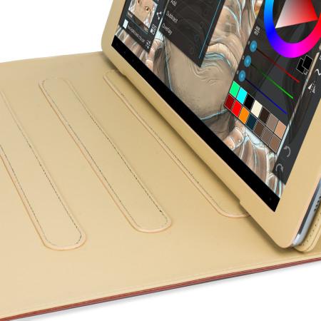 Olixar iPad Pro 12.9 2015 Vintage Stand Smart Case - Cognac