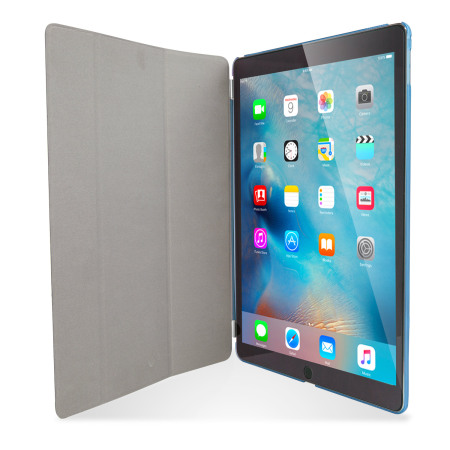 Olixar iPad Pro 12.9 inch Smart Cover with Hard Case - Blue