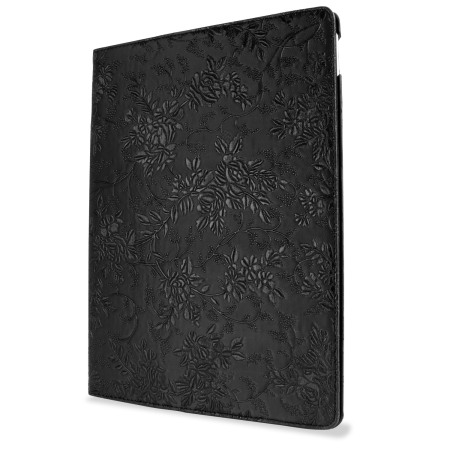 great olixar floral pattern rotating ipad pro 12 9 inch smart case black day ago