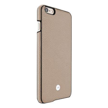 Just Mobile Quattro Real Leather iPhone 6S Plus / 6 Plus Case - Beige